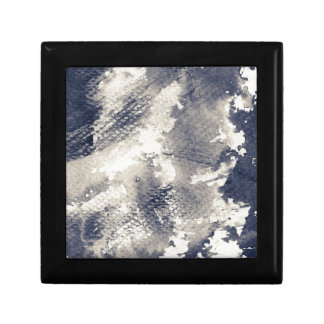 Abstract grunge background. Watercolor, ink Gift Box
