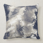 Abstract grunge background. Watercolor, ink Throw Pillow
