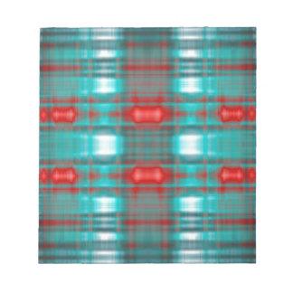 Abstract grunge blur pattern notepad