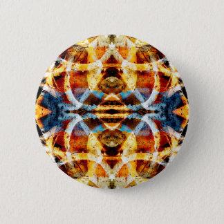 Abstract grunge graffiti pattern button