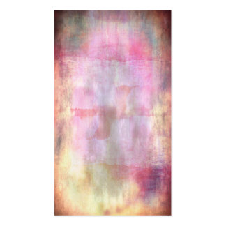 Abstract grunge pink with vignette texture business cards