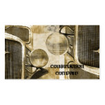 abstract grunge retro vintage rustic old truck business card
