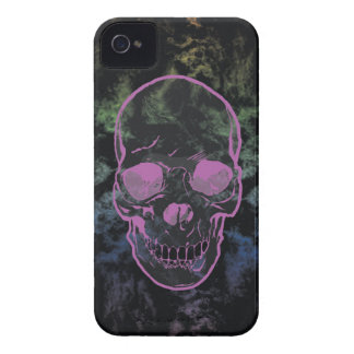 Abstract Grunge Skull iPhone 4 Case-Mate Case