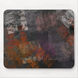 Abstract Grunge Squares Mouse Pads