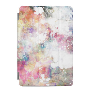 Abstract grunge texture with watercolor paint 2 iPad mini cover