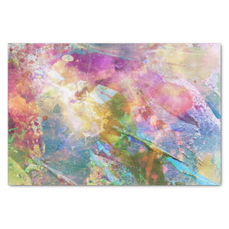 Abstract grunge texture with watercolor paint 3 tissue paper