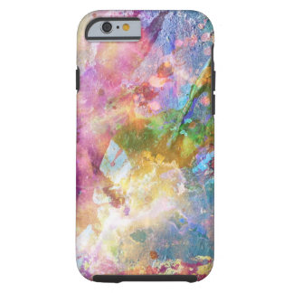 Abstract grunge texture with watercolor paint 3 tough iPhone 6 case