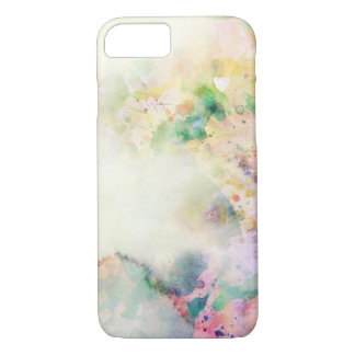 Abstract grunge texture with watercolor paint iPhone 8/7 case
