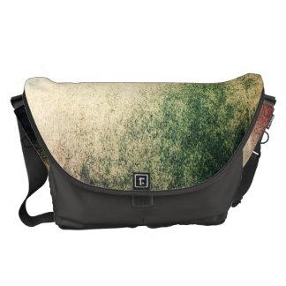Abstract Grunge Vintage Large Messenger Bag