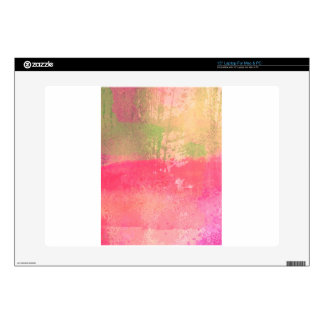 Abstract Grunge Watercolor Print Laptop Skin