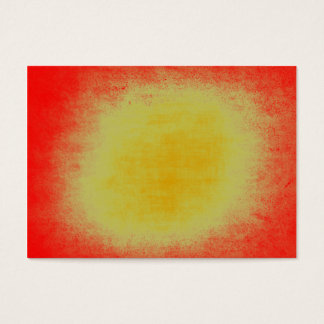 Abstract grunge yellow and red texture business card