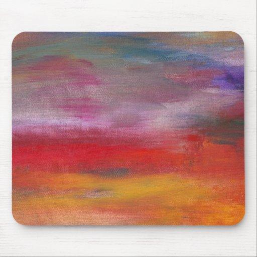 Abstract - Guash & Acrylic - Pleasant Dreams Mouse Pad