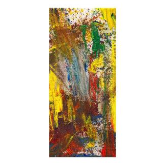 Abstract - Guash - Morning Joy Rack Cards
