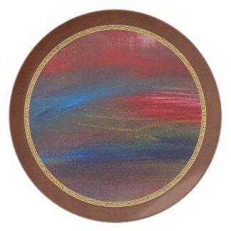 Abstract - Guash - Savana Plate