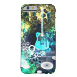 Abstract Guitar Art Barely There iPhone 6 Case