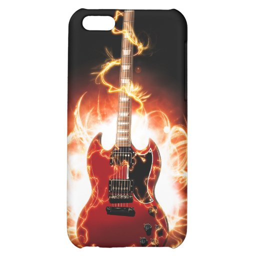 Abstract Guitar Design iPhone 5C Case