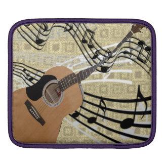 Abstract Guitar iPad Sleeve