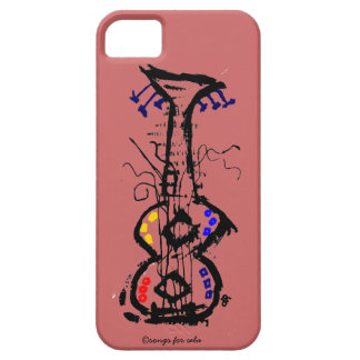 abstract guitar iPhone SE/5/5s case