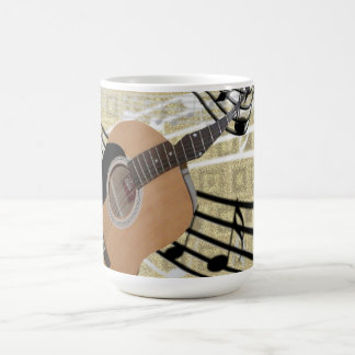 Abstract Guitar Mug