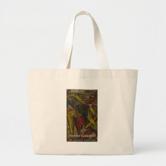 abstract guitarist 4 canvas bags