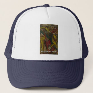 abstract guitarist 4 Hat