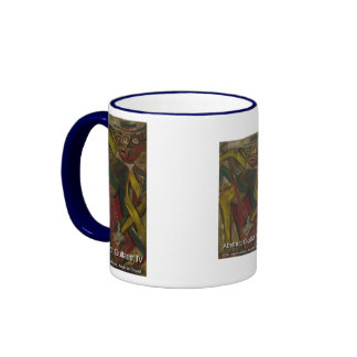 abstract guitarist IV Coffee Mugs
