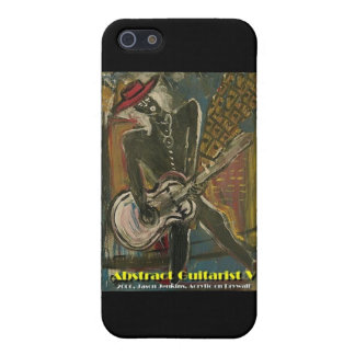 Abstract Guitarist V Cover For iPhone SE/5/5s