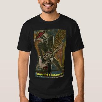 Abstract Guitarist V Tee Shirts