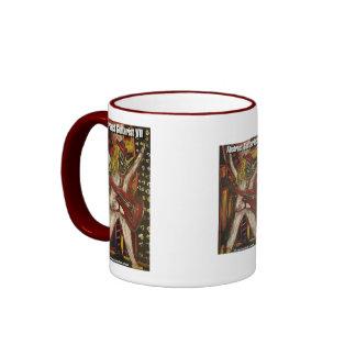 abstract guitarist VII Coffee Mug