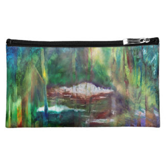 Abstract Gurgling Brooks Bag Cosmetics Bags
