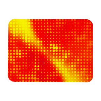 Abstract Halftone Dots Magnet