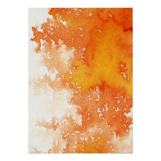 Abstract hand painted watercolor background. 2 poster