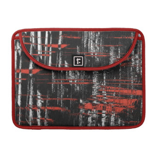 Abstract Hash Tags Sleeve For MacBooks
