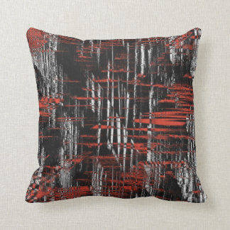Abstract Hash Tags Throw Pillow