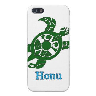 Abstract Hawaiian Green Sea Turtle Case For iPhone SE/5/5s