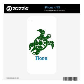 Abstract Hawaiian Green Sea Turtle Skin For The iPhone 4