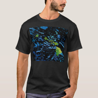 Abstract Hawaiian Islands Chain Men's T-Shirt