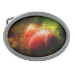 Abstract Heart Art Design Belt Buckle