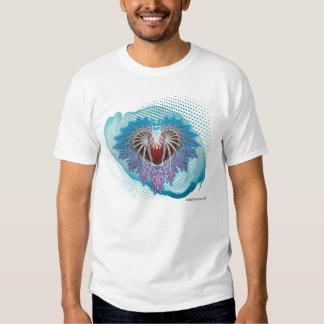 Abstract Heart Design Shirt