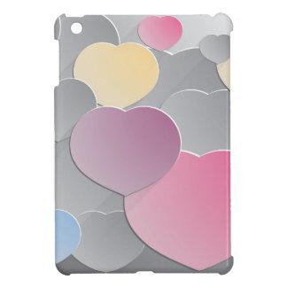 Abstract hearts st. Valentines day 14 February iPad Mini Cases