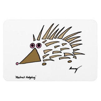 Abstract Hedgehog Flexible Magnet