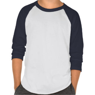 Abstract Hedgehog Kids Raglan T-Shirt