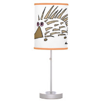 Abstract Hedgehog Lamps