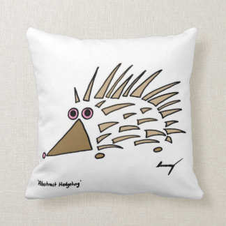 Abstract Hedgehog Pillow - Purple