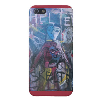 ABSTRACT HELTER SKELTER iPhone SE/5/5s CASE