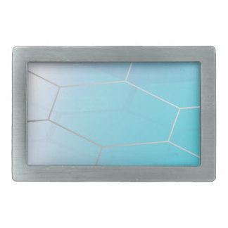 Abstract Hexagon Background_3 Rectangular Belt Buckle