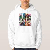 Abstract Hexagon Graphic Design Hoodie
