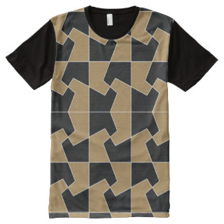 Abstract hexagon periodic tessellation pattern All-Over-Print T-Shirt
