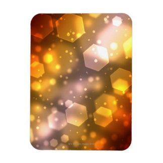 Abstract Hexagon Rectangular Photo Magnet
