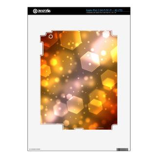 Abstract Hexagon iPad 3 Decal